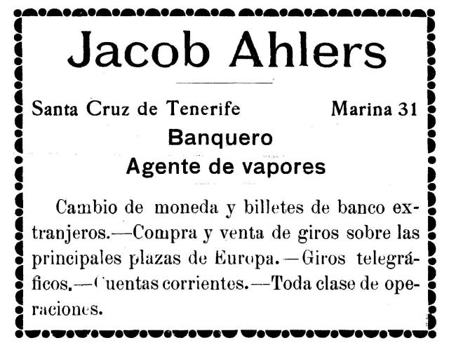 ahlers 1909