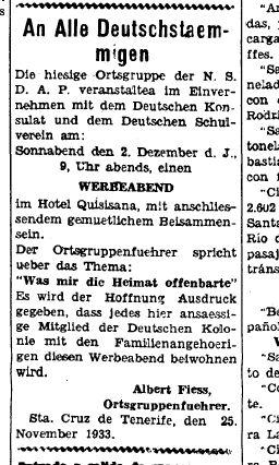 Gaceta de Tenerife - 28.11.1933